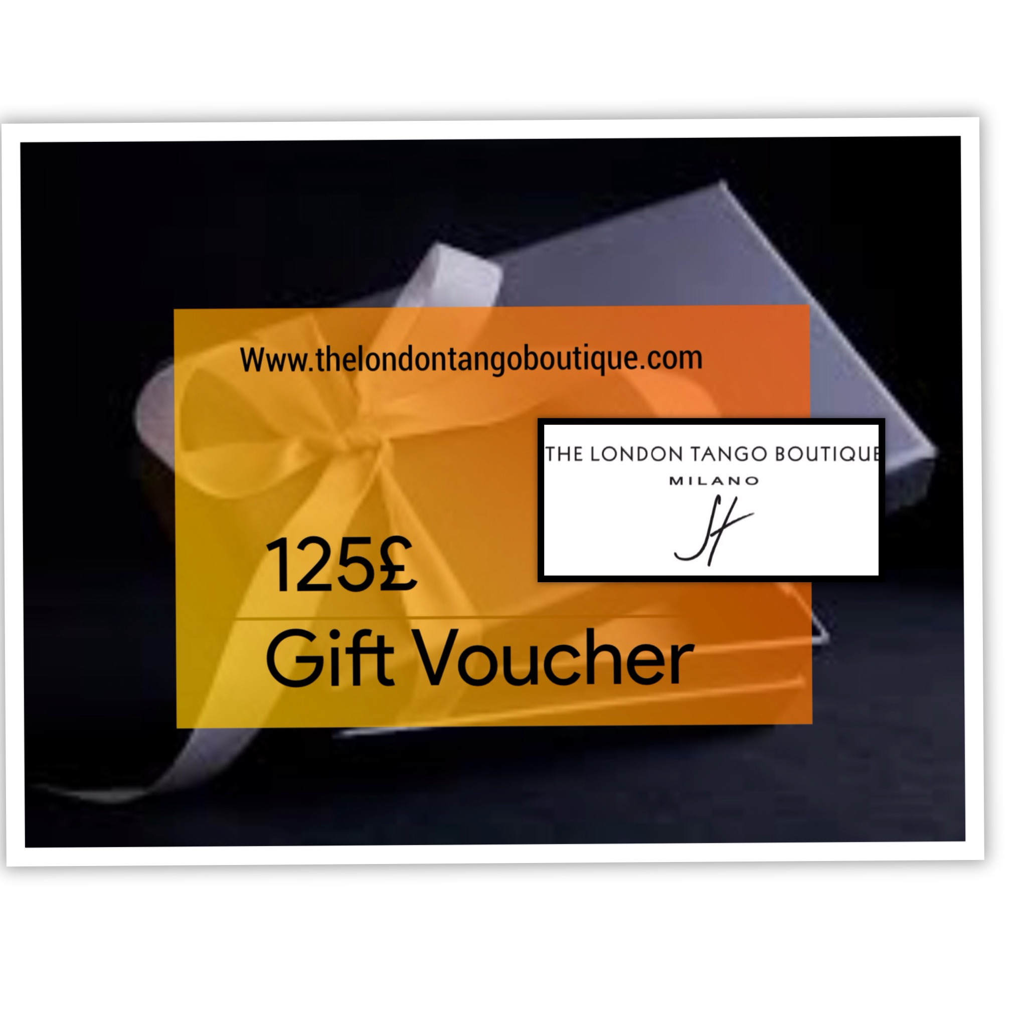 Tango dress gift voucher