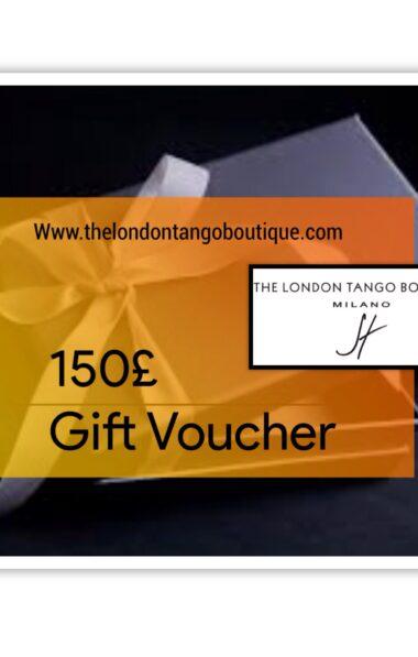 Tango dress gift voucher