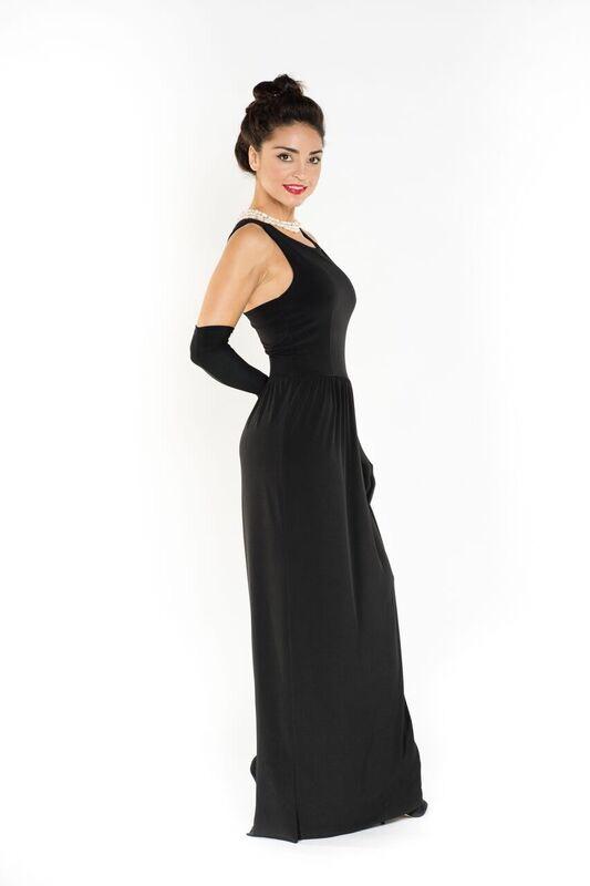 Audrey Hepburn's Breakfast at Tiffany long dress