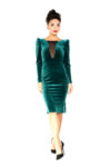 Green tango dress
