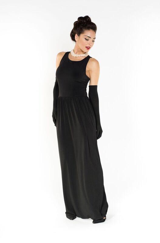 Breakfast at Tiffany black dress as seen on Audrey Hepburn
