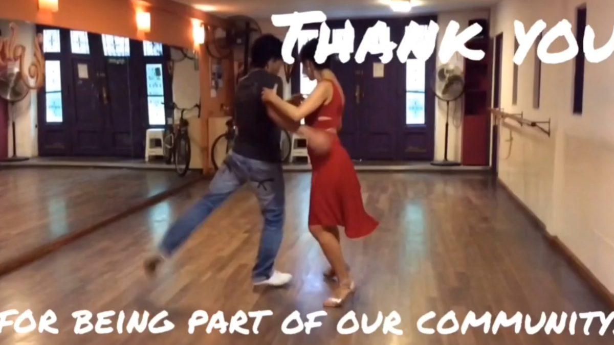 Tango improvisation video