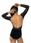 Long tulle sleeves tango body