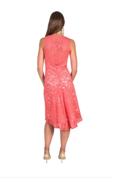 Peace lace Natural cotton tango dress