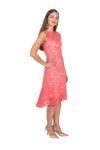 Cotton lace Argentine tango dress
