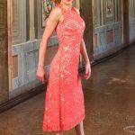 Pink tango dress