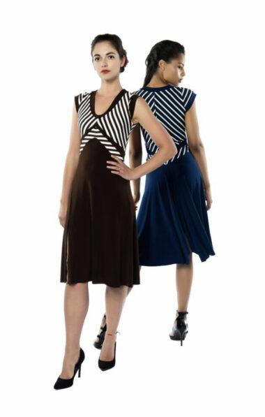 A V Tango dress