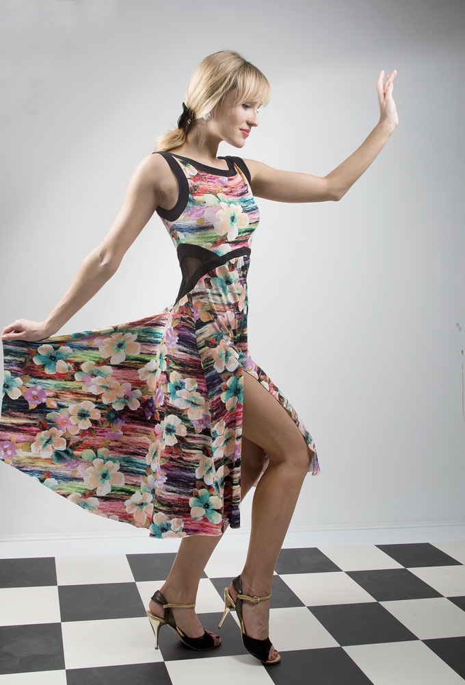 Viscose summer tango dress a