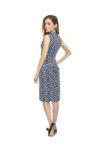 A patterned ortigia dress
