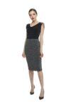 Silver tango skirt