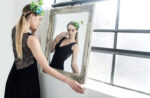 Glitter tulle Tango Dress