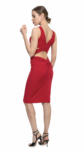 red Argentine tango top