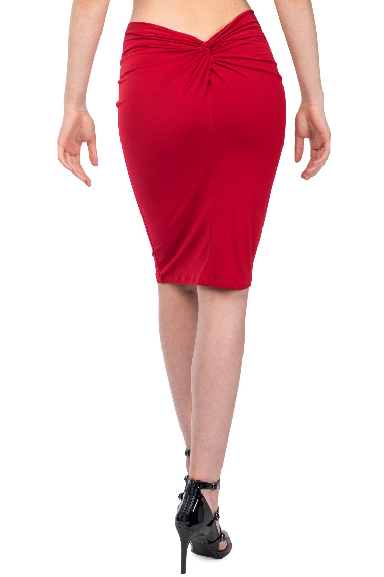 Argentine Tango skirt red
