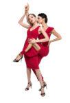 Argentine babucha tango pants and skirt red