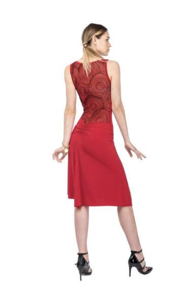 Red tango dress abito tango tango-kleidung