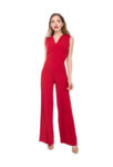 Red Tango jump-suit in jersey