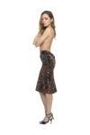 Velvet tango skirt