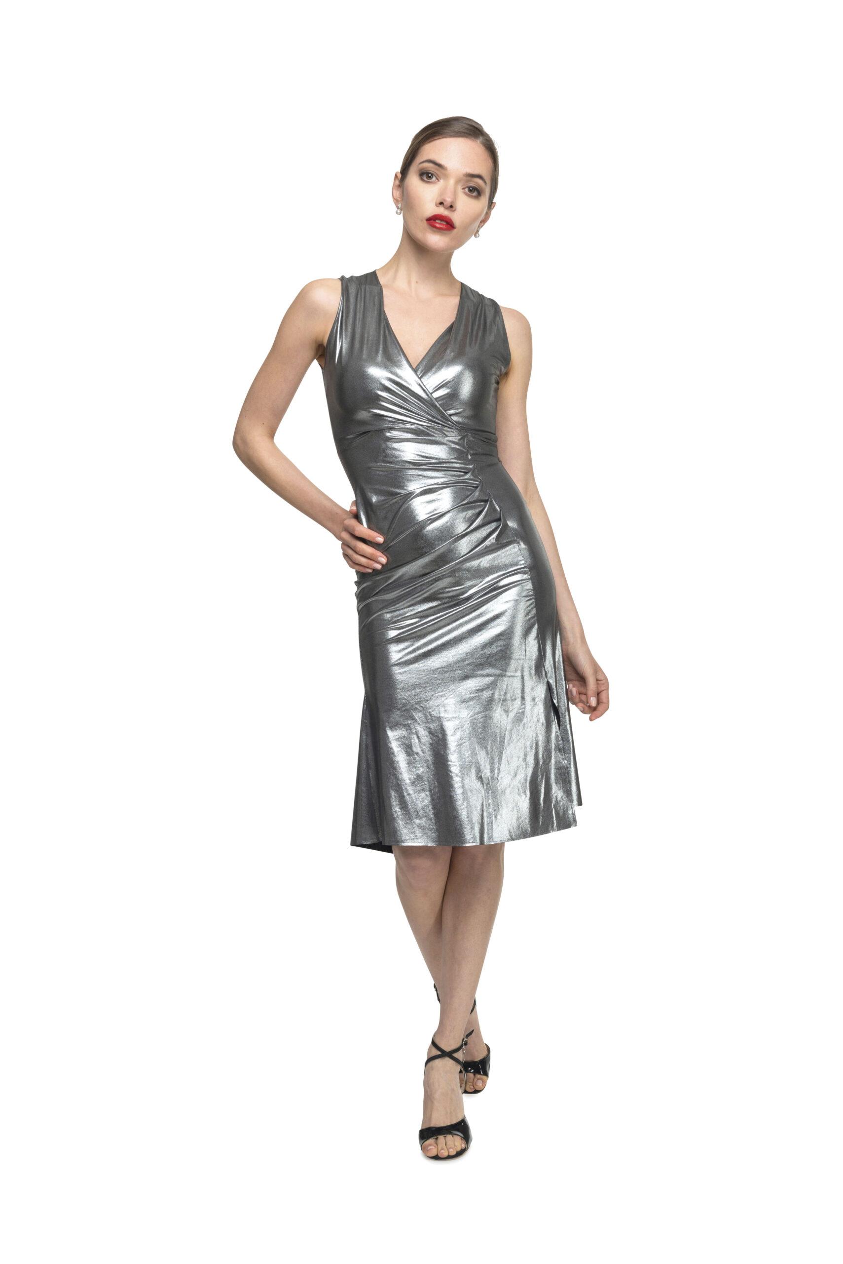 Silver Tango Dress