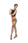 Mosaic Knot tango skirt