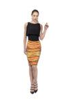 yellow tango skirt