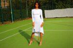 Wedding tango dress white tango