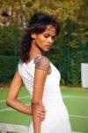 white tango top bridal