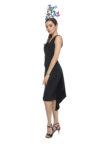 Black Fishtail Tango Skirt