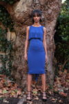 Electric blue Tango skirt and top