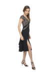 Glitter Argentine Tango Dress
