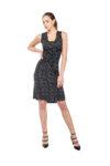Polka dots tango dress