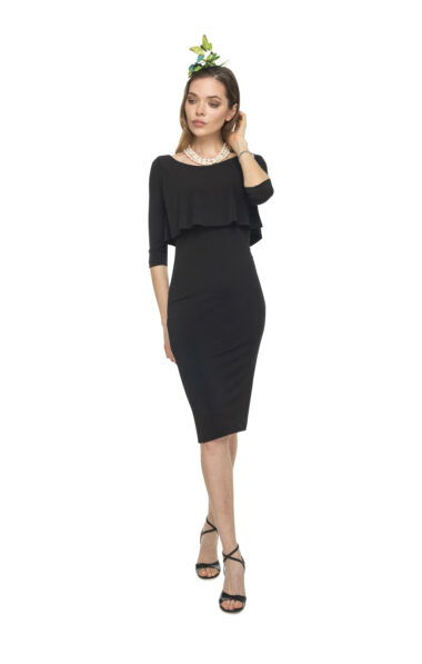 Black tango Dress with sleeves