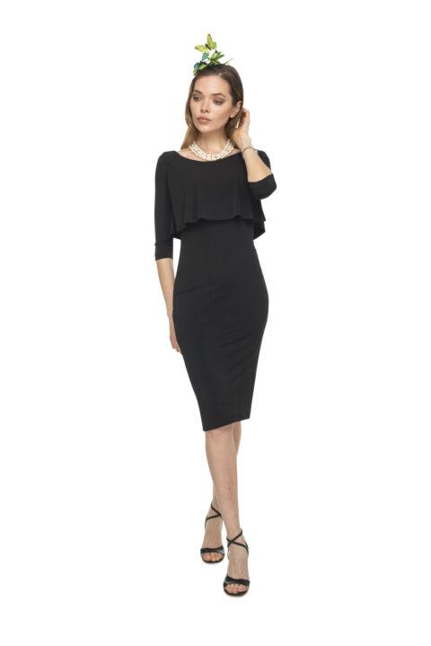 Black tango Dress with sleeves