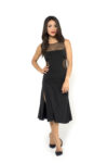A black cremona tango dress